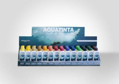 Aquatinta-espositore